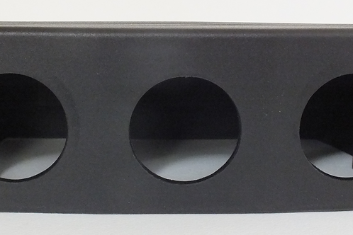 Build Your Own Triple Socket Panel Surface Mount