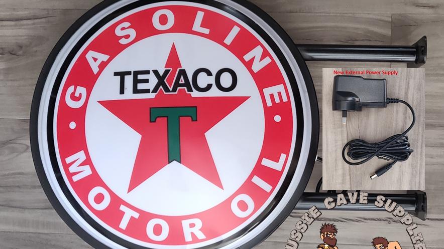 Texaco Lightbox