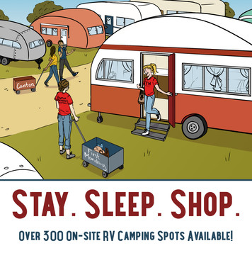Stay Sleep Shop First Monday Canton