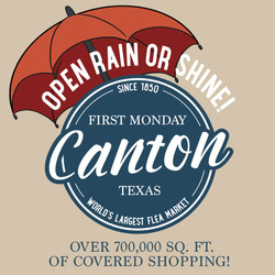 Open Rain or Shine First Monday Canton