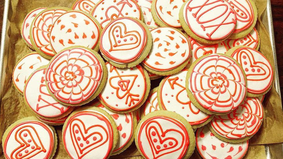 Valentine's Day Sugar Cookeis