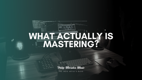 What Actually is Mastering?