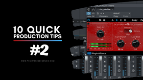 10 Quick Production Tips | #2