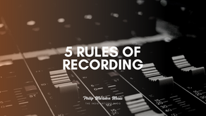5 Rules of Recording