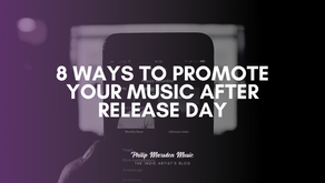 8 Ways to Promote Your Music After Release Day