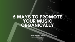 5 Ways to Promote Your Music Organically