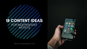 18 Content Ideas for Independent Artists