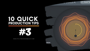 10 Quick Production Tips | #3