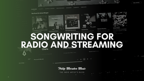 Songwriting for Radio and Streaming
