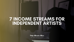 7 Income Streams for Independent Artists