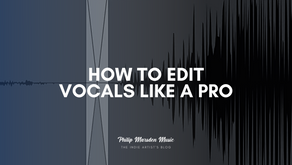 How to Edit Vocals Like a Pro