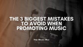 The 3 Biggest Mistakes to Avoid When Promoting Music