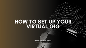 How to Set up Your Virtual Gig