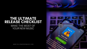 The Ultimate Release Checklist | Make the Most of Your New Music