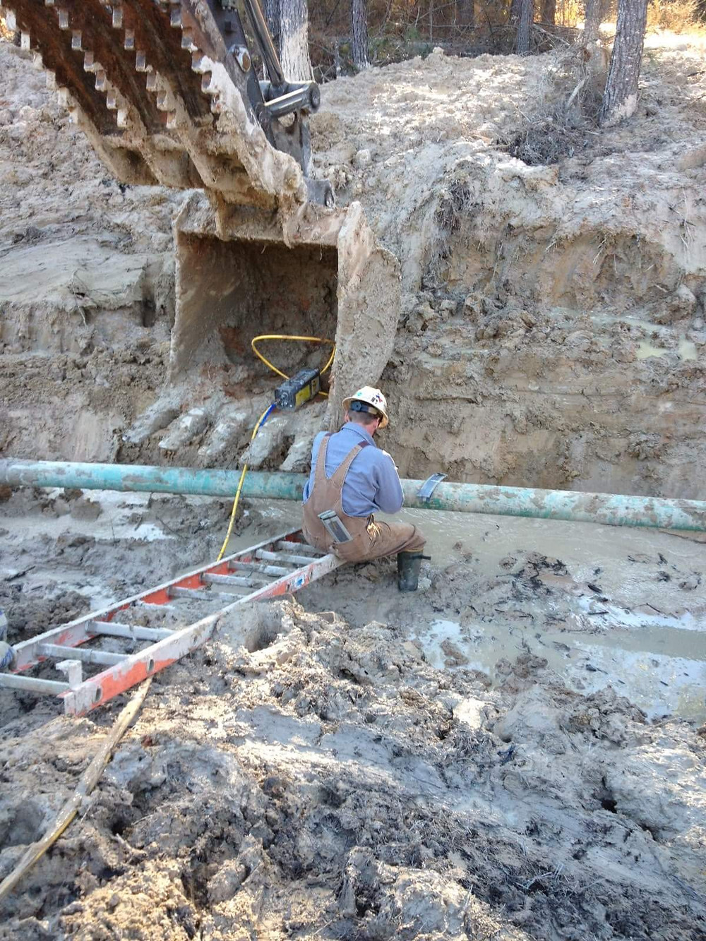 Candid photo of myself, working on the pipeline