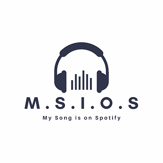 """The official logo for """"My Song is on Spotify"""""""