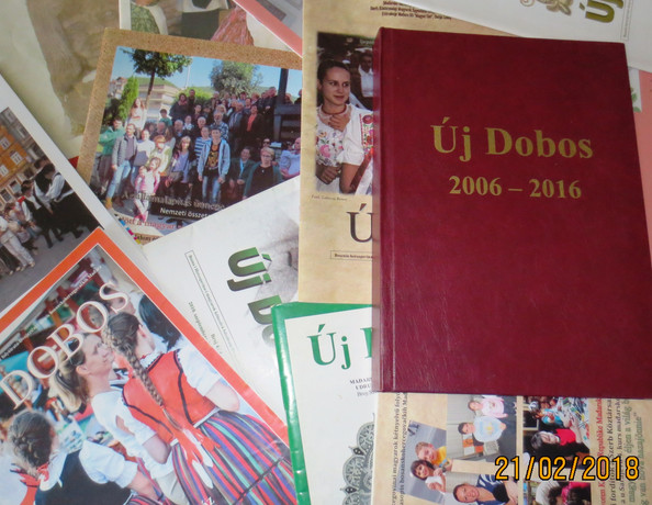 Az ÚJ Dobos folyóiratunkat olvashatja az egész világ/ Naš časopis Új Dobos može da čita cijeli svije