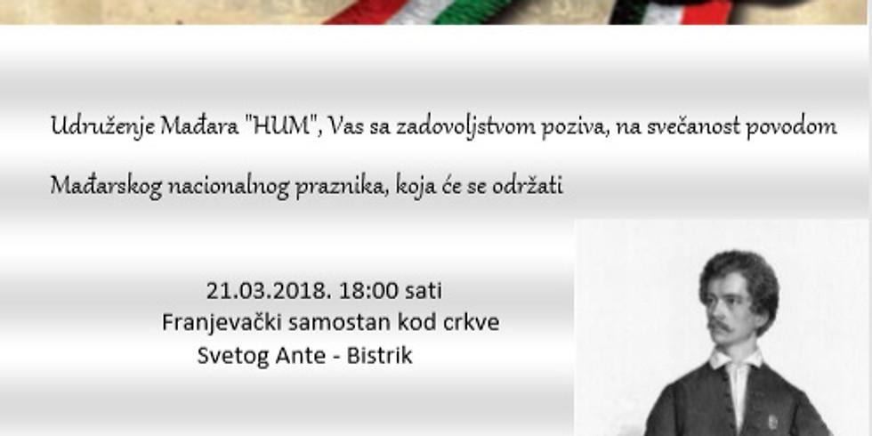 Március 15 | Nemzeti Ünnep / Nacionalni Praznik