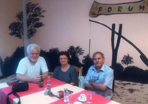 Újvidéki találkozás a Buzás házaspárral /Sastanak sa bračnim parom Buzaš u Novom Sadu