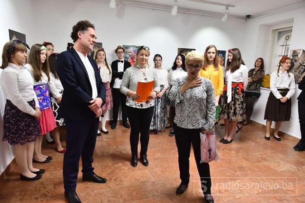 Farkas József Tanúhegyek című kiállításával nyílt a Kantonális Kisebbségi Napok Szarajevóban