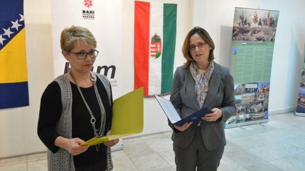 Egy pillantás Magyarországra Szarajevóban