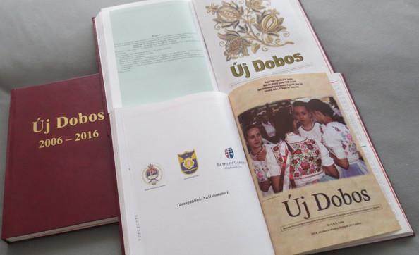 Izašao je iz štampe  12. broj  časopisa Uj doboš  / Kijött a nyomdából  az Új Dobos 12. száma