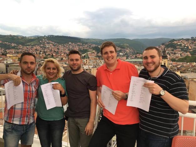 Novi polaznici kursa mađarskog jezika
