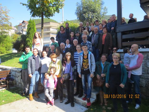 A boszniai magyarok közös kirándulása