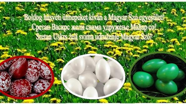 Boldog húsvéti ünnepeket / Sretan Uskrs/Сретан Васкрс