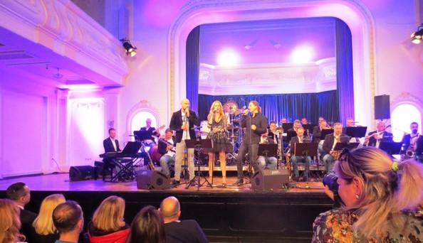"Hatalmas sikert aratott Budapest Jazz Orchestra  Banja Lukaban / Veliki uspjeh ""Budapest Jazz Orches"