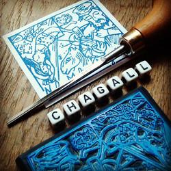 Ex-libris Chagall