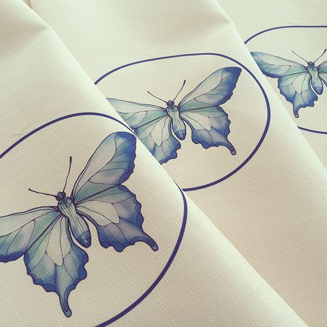 Печать на мебельной ткани для новой кондитерской в Краснодаре 👍🏻👍🏻👍🏻Скоро открытие 😉самые вку
