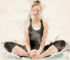 3 Yoga stillinger som supplement til løbetræning.