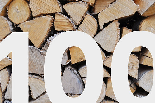Nadelholz, frisch 100 cm ab Wald