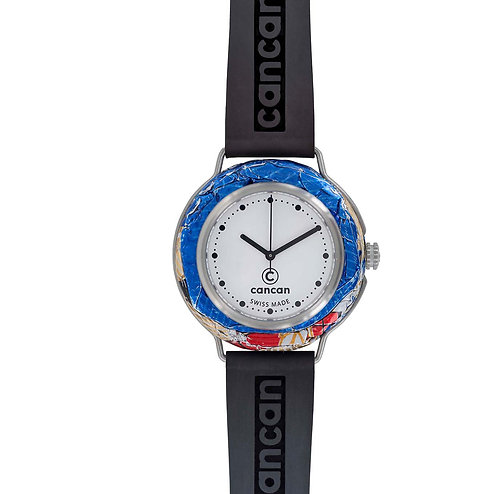 Cancan-Watch (SWISS MADE) Silver