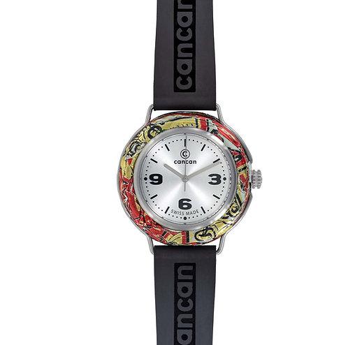 Cancan-Watch (SWISS MADE)mit Ziffern