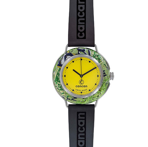 Cancan-Watch (SWISS MADE) Yellow