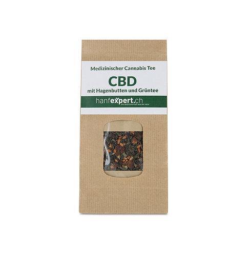 CBD Tee mit Wildfrüchten und Grüntee