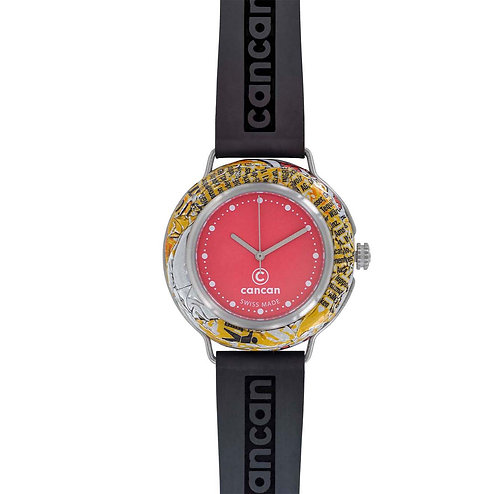 Cancan-Watch (SWISS MADE) Red