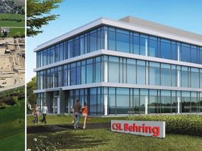 Besichtigung Baustelle CSL Behring