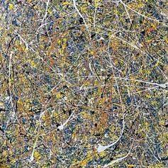 Everything Bagel - Acrylic on Canvas 4'x4' $500