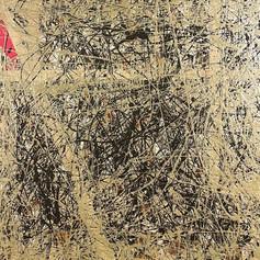 "Pearlessence - Acrylic on Wood 24"" x 24"" - $430"