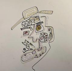 "Smalls Jazz Club - Pen on Paper 12"" x 9"" - $220"