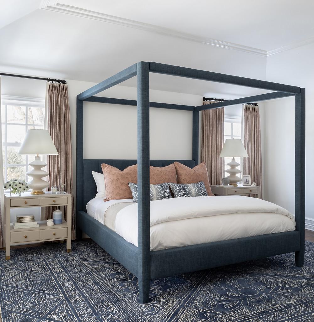 bedroom by Britt Design Studio