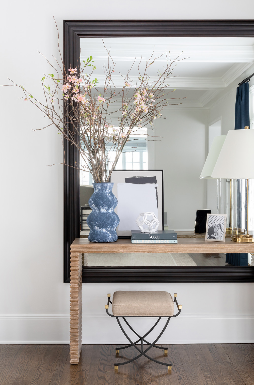 Living Room by Britt Design Studio