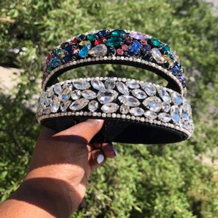 Rhinestone life headband