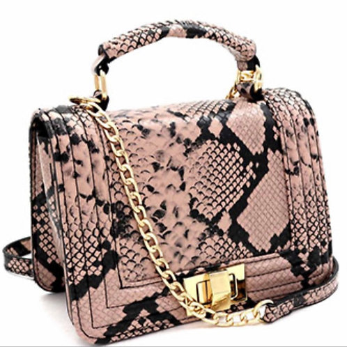 Snake skin purses