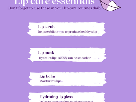 Lip care health