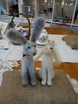 Bride and Groom hares