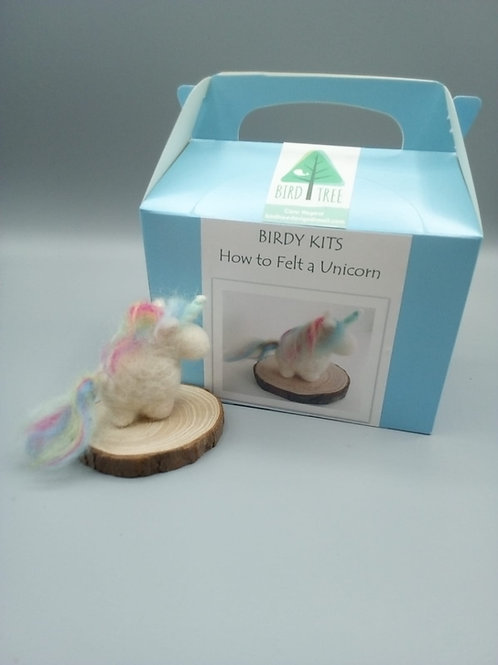 Unicorn felting kit